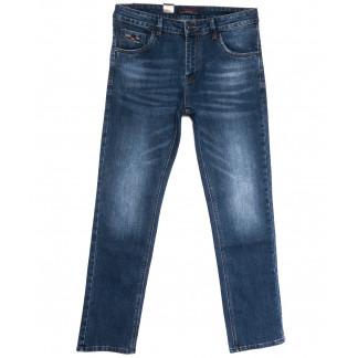 18012 Ferrars джинсы мужские полубатальные синие весенние стрейчевые (32-38, 8 ед.) Feerars: артикул 1105928