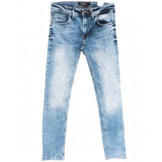 6455 Fashion Red джинсы мужские голубые весенние стрейчевые (29-36, 8 ед.) Fashion Red: артикул 1105902
