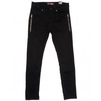6445 Corcix джинсы мужские стильные черные весенние стрейчевые (29-36, 8 ед.) Corcix: артикул 1105903