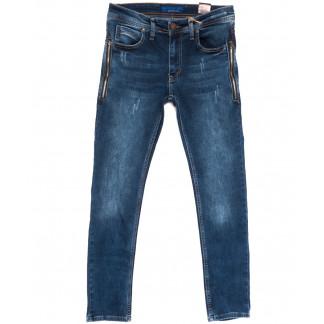 6443 Blue Nil джинсы мужские стильные синие весенние стрейчевые (29-36, 8 ед.) Blue Nil: артикул 1105910