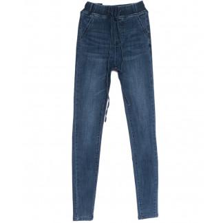 0088 Trang джинсы женские на резинке синие весенние стрейчевые (36-42,евро, 5 ед.) Trang: артикул 1105995