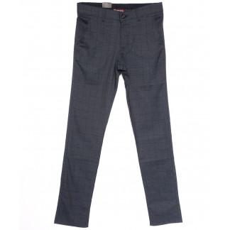 0343 G2-2 Missouri брюки мужские в клетку серые весенние стрейчевые (29-36, 7 ед.) Missouri: артикул 1106182