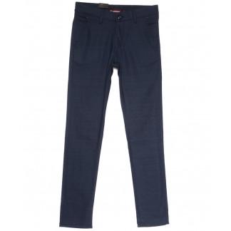 0343 SILIK EKOSER-2 Missouri брюки мужские в клетку синие весенние стрейчевые (29-36, 7 ед.) Missouri: артикул 1106183