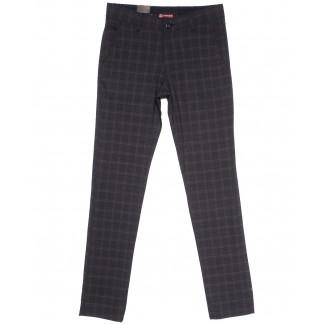 0454 EKOSE-28 Missouri брюки мужские в клетку серые весенние стрейчевые (29-36, 7 ед.) Missouri: артикул 1106184