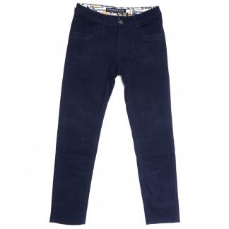 2141 Fangsida джинсы мужские полубатальные синие весенние стрейчевые (32-38, 8 ед.) Fangsida: артикул 1106204