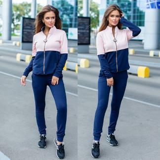 2045-18 розово-синий женский спортивный костюм (42,42, 2 ед.) Костюм: артикул 1107066