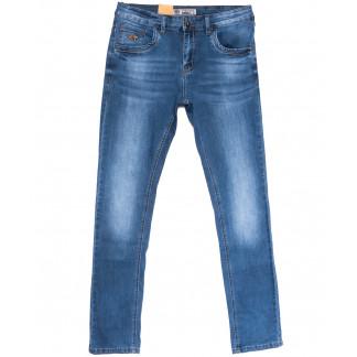 5039 Vitions джинсы мужские молодежные синие весенние стрейчевые (28-36, 8 ед.) Vitions: артикул 1106235