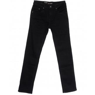 1058 LS джинсы мужские черные весенние стрейчевые (29-38, 8 ед.) LS: артикул 1106256