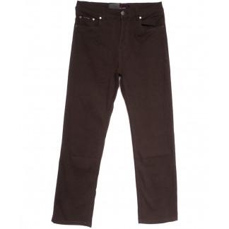3034-В LS джинсы мужские полубатальные коричневые весенние стрейчевые (32-40, 8 ед.) LS: артикул 1106261