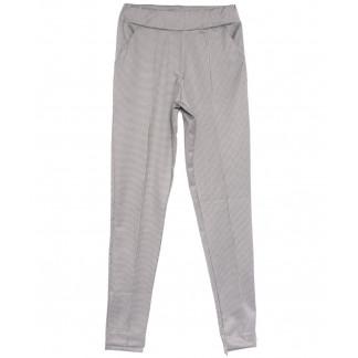 0017-42 белые Exclusive брюки женские в клетку весенние стрейчевые (42-48, 4 ед.) Exclusive: артикул 1106267