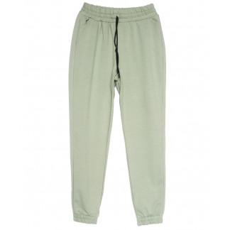 0228-42 зеленые Exclusive брюки женские спортивные весенние стрейчевые (42-48, 4 ед.) Exclusive: артикул 1106285