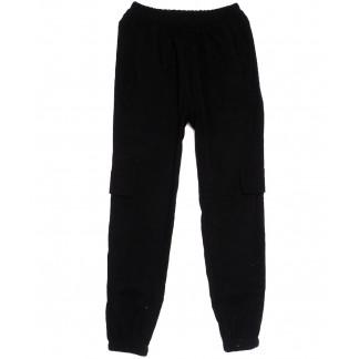 0227-42 черные Exclusive брюки карго женские весенние стрейчевые (42-48, 4 ед.) Exclusive: артикул 1106279