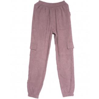 0227-42 фрезовые Exclusive брюки карго женские весенние стрейчевые (42-48, 4 ед.) Exclusive: артикул 1106281