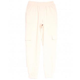 0227-42 бежевые Exclusive брюки карго женские весенние стрейчевые (42-48, 4 ед.) Exclusive: артикул 1106282