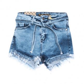 0769 Redmoon шорты джинсовые женские синие стрейчевые (25-30, 6 ед.) REDMOON: артикул 1106302
