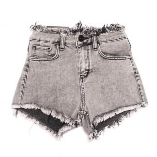 0498 Redmoon шорты джинсовые женские серые стрейчевые (25-30, 6 ед.) REDMOON: артикул 1106306
