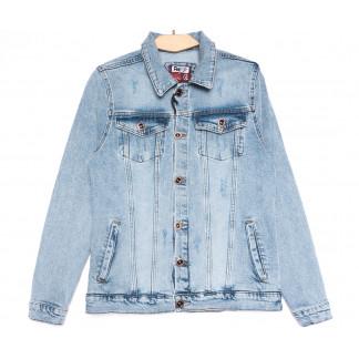 0648 Redmoon куртка джинсовая мужская синяя весенняя стрейчевая (S-XL, 4 ед.) REDMOON: артикул 1106312