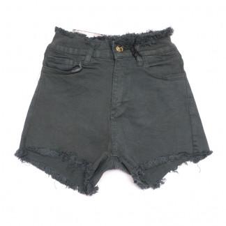 0486 Redmoon шорты джинсовые женские хаки стрейчевые (25-30, 6 ед.) REDMOON: артикул 1106313