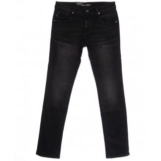 1057 LS джинсы мужские молодежные черные весенние стрейчевые (28-36, 8 ед.) LS: артикул 1106336