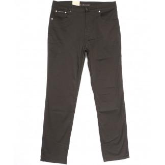 9001-D LS джинсы мужские батальные коричневые весенние стрейчевые (34-44, 8 ед.) LS: артикул 1106342