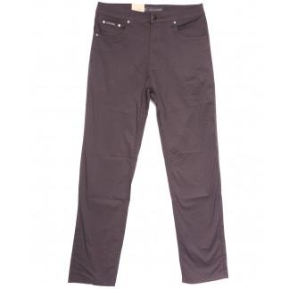 9019-D LS джинсы мужские батальные коричневые весенние стрейчевые (34-44, 8 ед.) LS: артикул 1106343