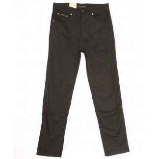 9001-В LS джинсы мужские полубатальные коричневые весенние стрейчевые (32-40, 8 ед.) LS: артикул 1106345