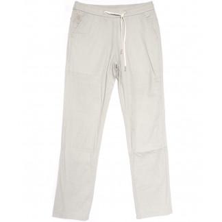 7010 Vitions брюки мужские на резинке белые летние стрейчевые (30-38, 8 ед.) Vitions: артикул 1106354