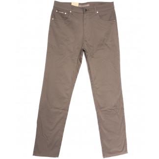 9016-D LS джинсы мужские батальные коричневые весенние стрейчевые (34-44, 8 ед.) LS: артикул 1106404