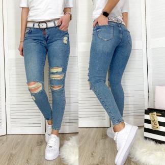 0457 (295) Rox & Rite джинсы женские с рванкой весенние стрейчевые (26-31, 6 ед.) Rox Rite: артикул 1106693