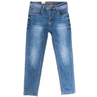 2218 Longli джинсы мужские полубатальные с царапками синие весенние стрейчевые (32-38, 8 ед.) Longli: артикул 1106562