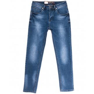 2195 Longli джинсы мужские синие весенние стрейчевые (30-38, 8 ед.) Longli: артикул 1106565