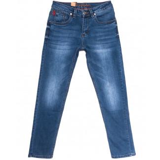 2196 Longli джинсы мужские синие весенние стрейчевые (30-38, 8 ед.) Longli: артикул 1106568