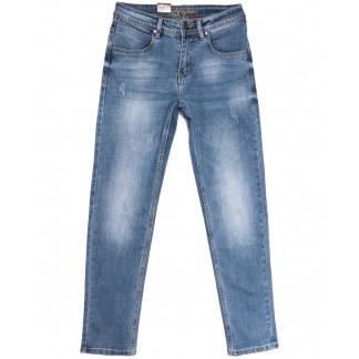 2224 Longli джинсы мужские с царапками синие весенние стрейчевые (29-38, 8 ед.) Longli: артикул 1106570