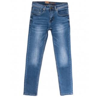 2185 Longli джинсы мужские с царапками синие весенние стрейчевые (29-38, 8 ед.) Longli: артикул 1106571