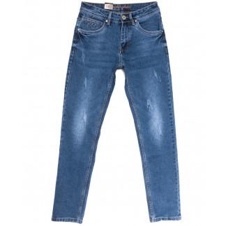 2229 Longli джинсы мужские с царапками синие весенние стрейчевые (29-38, 8 ед.) Longli: артикул 1106576