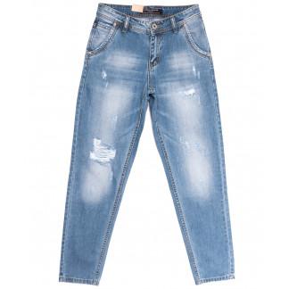 2213 Longli джинсы мужские молодежные с рванкой голубые весенние коттоновые (28-34, 8 ед.) Longli: артикул 1106585