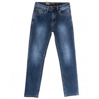 59938 Moshrck джинсы мужские полубатальные синие весенние стрейчевые (32-38, 8 ед.) Moshrck: артикул 1106593