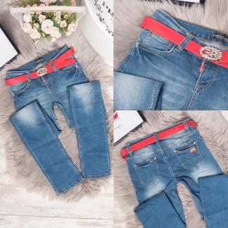 0749-283 Erplus джинсы женские синие весенние стрейчевые (25-30, 6 ед.) Erplus: артикул 1106784