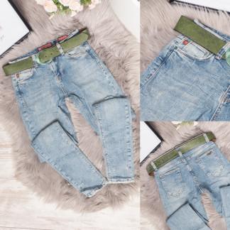 0463 (302) Rox Rite джинсы женские с царапками синие весенние стрейчевые (26-31, 6 ед.) Rox Rite: артикул 1106789