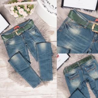 0711-213 Erplus джинсы женские синие весенние стрейчевые (26,27,28,29, 4 ед.) Erplus: артикул 1106790