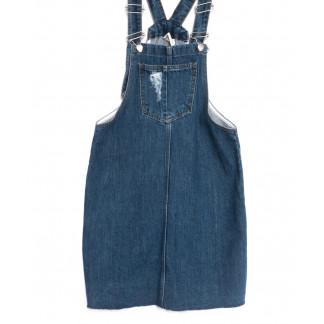 1791 синий Defile сарафан джинсовый весенний коттоновый (34-42,евро, 6 ед.) Defile: артикул 1107108