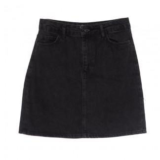 6010-1 Real Focus юбка джинсовая серая весенняя коттоновая (26-30, 5 ед.) Real Focus: артикул 1106919