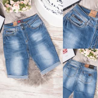 5558-5 A Relucky шорты джинсовые женские батальные синие стрейчевые (31-38, 6 ед.) Relucky: артикул 1106519
