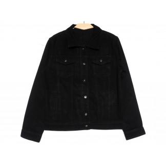 0816 New Jeans куртка джинсовая мужская черная весенняя коттоновая (S-XXL, 6 ед.) New Jeans: артикул 1105128