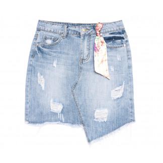 3700 New Jeans юбка джинсовая синяя весенняя коттоновая (25-30, 6 ед.) New Jeans: артикул 1105138