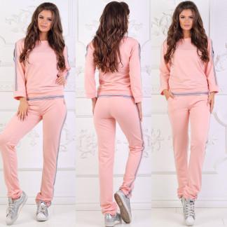 0022-2 розовый женский спортивный костюм (48,48, 2 ед.) Костюм: артикул 1106838