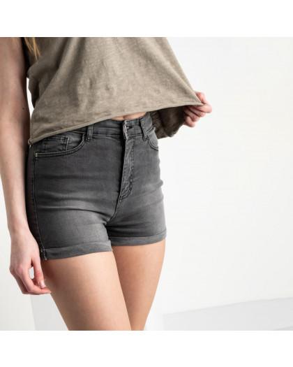 0700-2851 Kind Lady шорты серые стрейчевые (7 ед. размеры: 34.36/2.38/2.42.44) Kind Lady