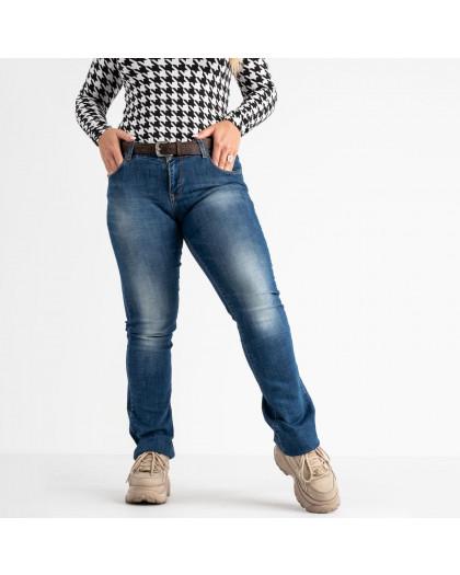 9173-B-5351 Colibri джинсы полубатальные синие стрейчевые (5 ед. размеры: 28.29.30.31.33) Colibri