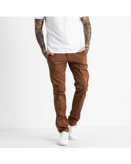 5769 LS брюки мужские коричневые стрейчевые (7 ед. размеры: 28.29.30.31.32.33.34) LS