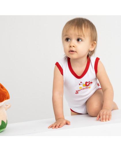 17076 Emotion kids красный боди на девочку 1-18 мес. (5 ед. размеры: 62.68.74.80.86) Emotion kids